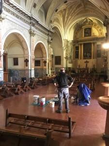 Protección de la Madera contra Xilófagos - Iglesia