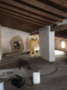 tratamiento de termitas pulverizado