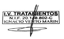 firma IV tratamientos Valencia